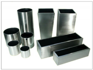 Brushed Stainless Steel Trough Planters from potstore.co.uk